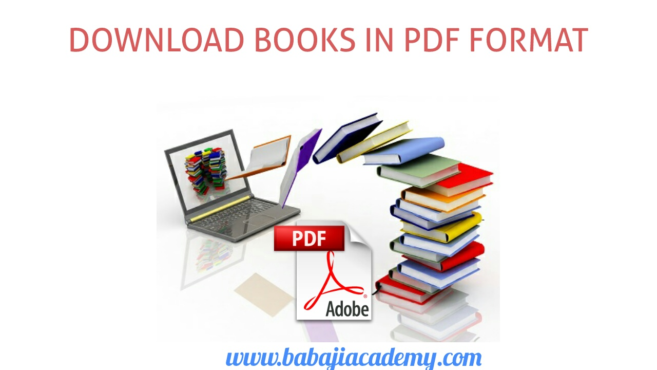 Download PDF Files of Various Books