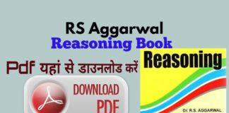 RS Aggarwal Reasoning Pdf