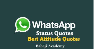 Whatsapp Status Download: Best Attitude Status, Whatsapp Status Video