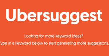 Ubersuggest: Neil Patel's Free Keyword Research Tool