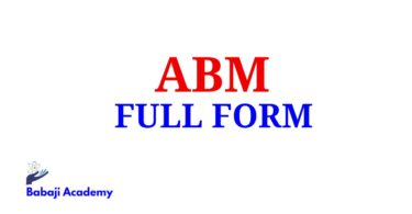 ABM Full Form, Full Form of ABM, ABM Meaning in English