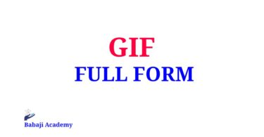 GIF Full Form, What is the Meaning and Full form of GIF