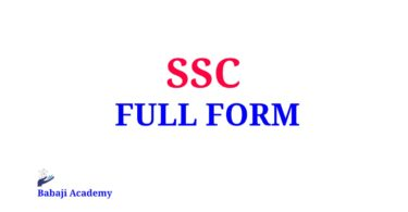 SSC Full Form, Full Form of SSC, What is the meaning of SSC