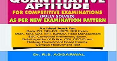 RS Aggarwal Quantitative Aptitude Pdf free Download