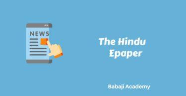 The Hindu Pdf Download: The Hindu pdf free download today, epaper