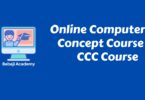Online Course on Computer Concept: CCC Certificate Course
