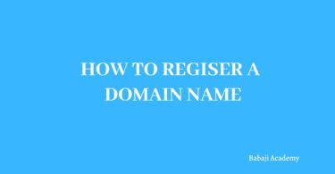 How to buy a Domain name: How to Register a Domain Name for free